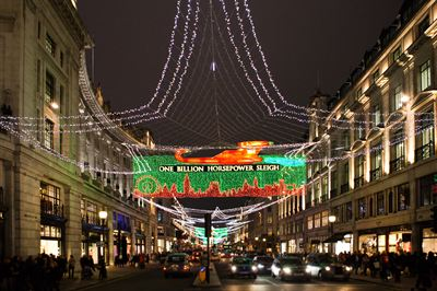 Regent Street, London W1 Christmas Lights 2011 - 3