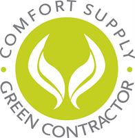 Comfort Supply Green Contractor Logo