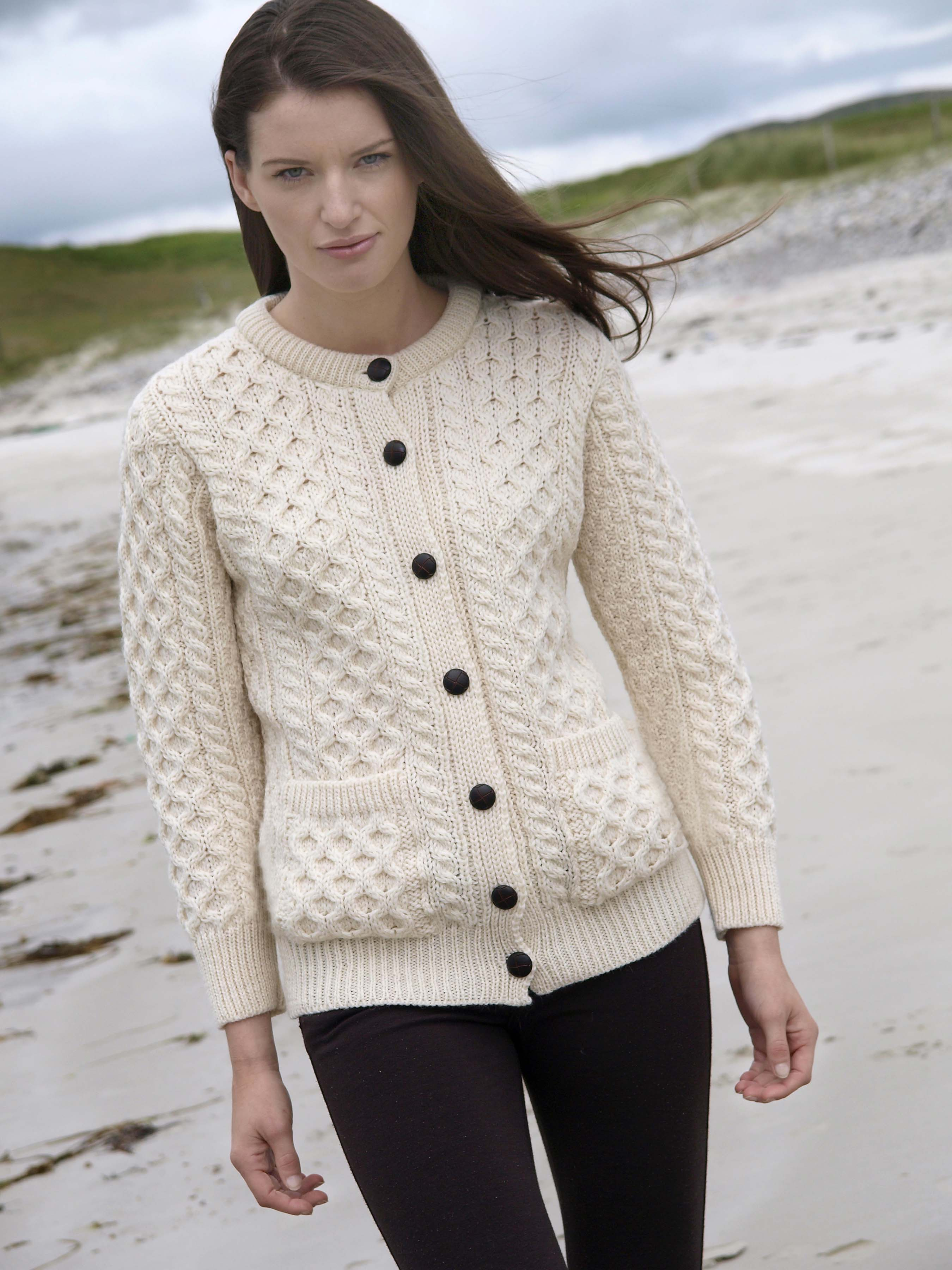 Aran Irish Knit Sweater - RAS Press Room