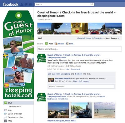 Guest of Honor på Facebook
