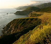 California's Central Coastline near Cambria, CA
