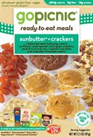 GoPicnic's and Enjoy Life Food's New MealSunButter + Crackers