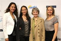 "Marie Anne Macrae,  Anne Marie Cousteau, Celine Cousteau, Cindy Howes at the ""Looking to the Future"" public forum – Washington DC"