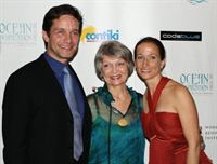 Fabien Cousteau (Celine's brother), Anne Marie Cousteau (Celine's mother), Celine Cousteau – Ocean Inspiration Gala - NY