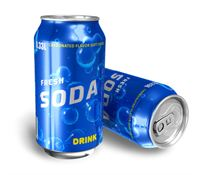 Soda is made up mosty of high fructose corn syrup
