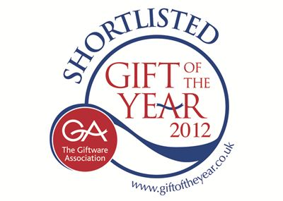 Shortlisted for Gift of the Year 2012