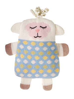 Animal Knitted Snuggle Hottie Lamb