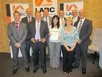 Winners of 'Best Commercial Building' - LABC Central Building Excellence  Awards 2011