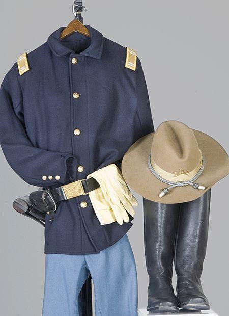 Ken Freeman S Uniform From 9th Cavalry Buffalo Soldiers