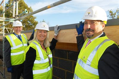Beeches Manor Topping Out