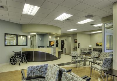 Loma Linda ER waiting area