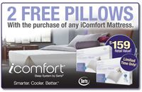 The iComfort Free Pillow Event