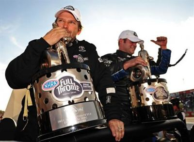 Worsham-Hagen seize first NHRA titles