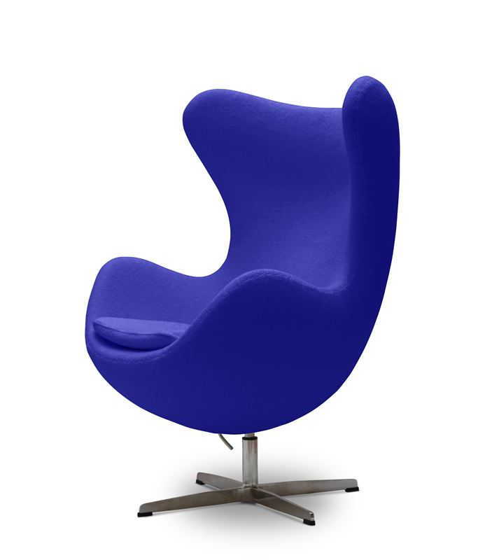 Egg Chairs For Easter Jwc, Blue Egg Chair