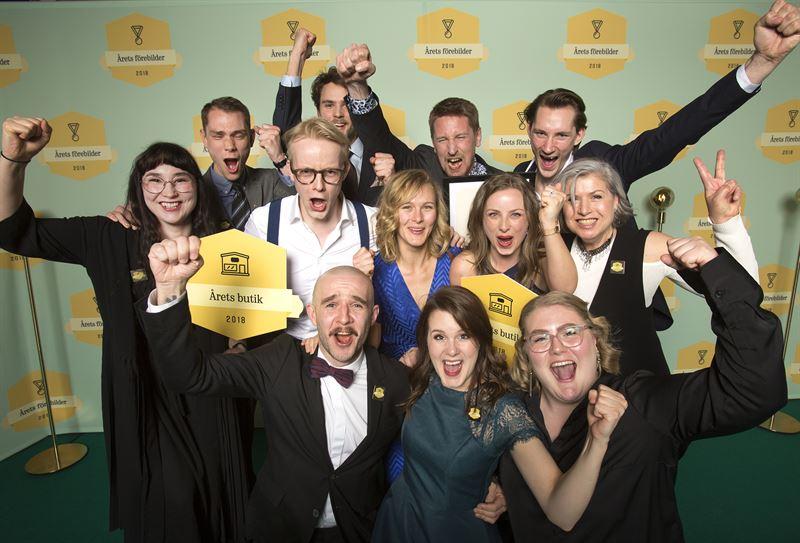 Årets butik Nya Hovås Foto Fond Fond