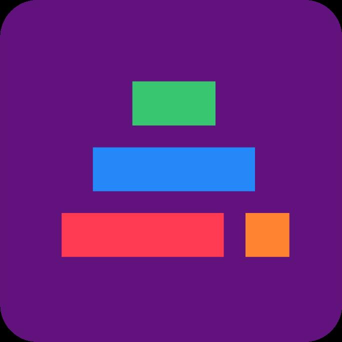 RGB Grafiskt-Element Rundad