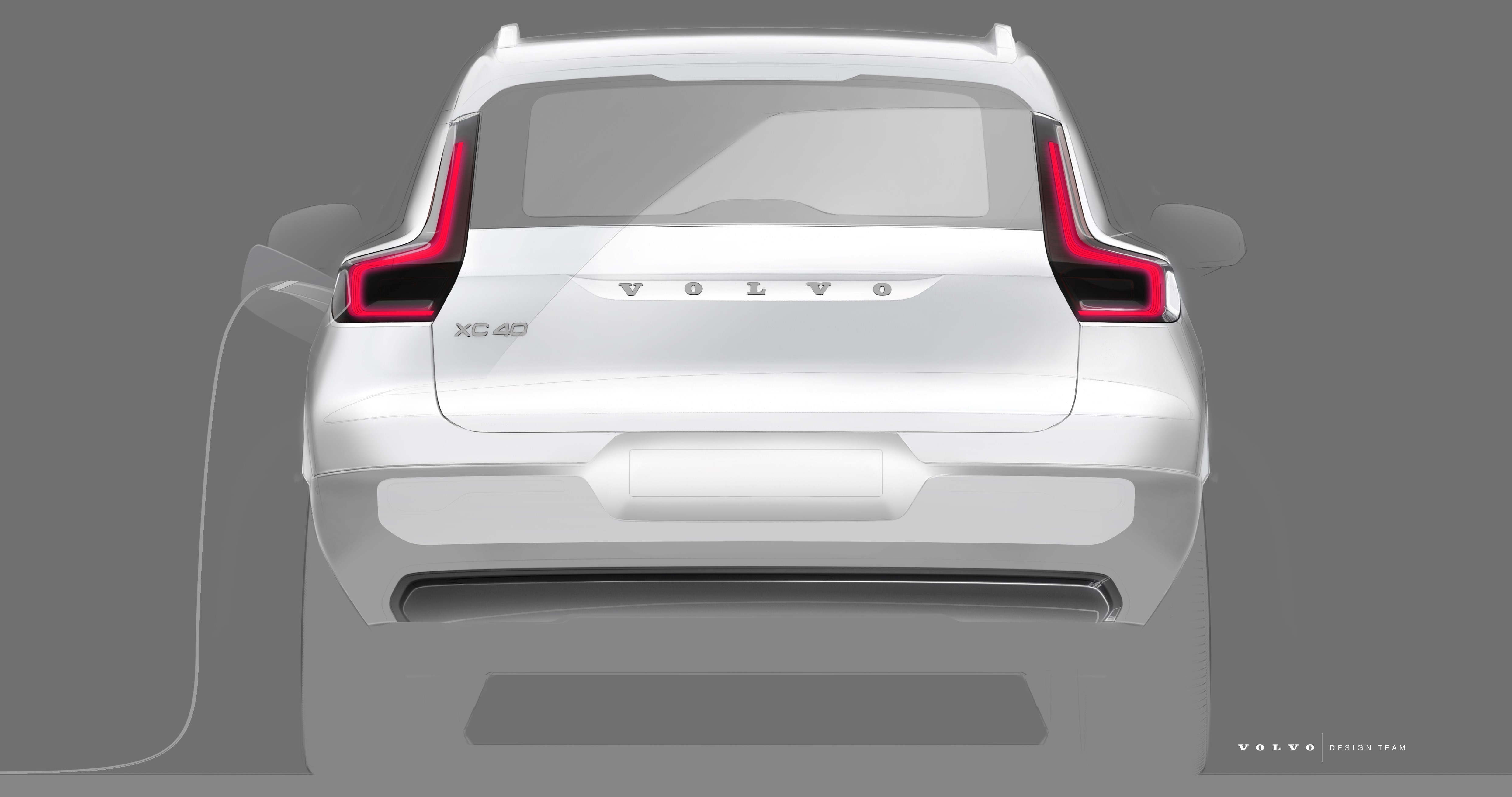 Volvo Electric Suv >> 258584 Design Sketch Of Volvo Cars Fully Electric Xc40 Suv