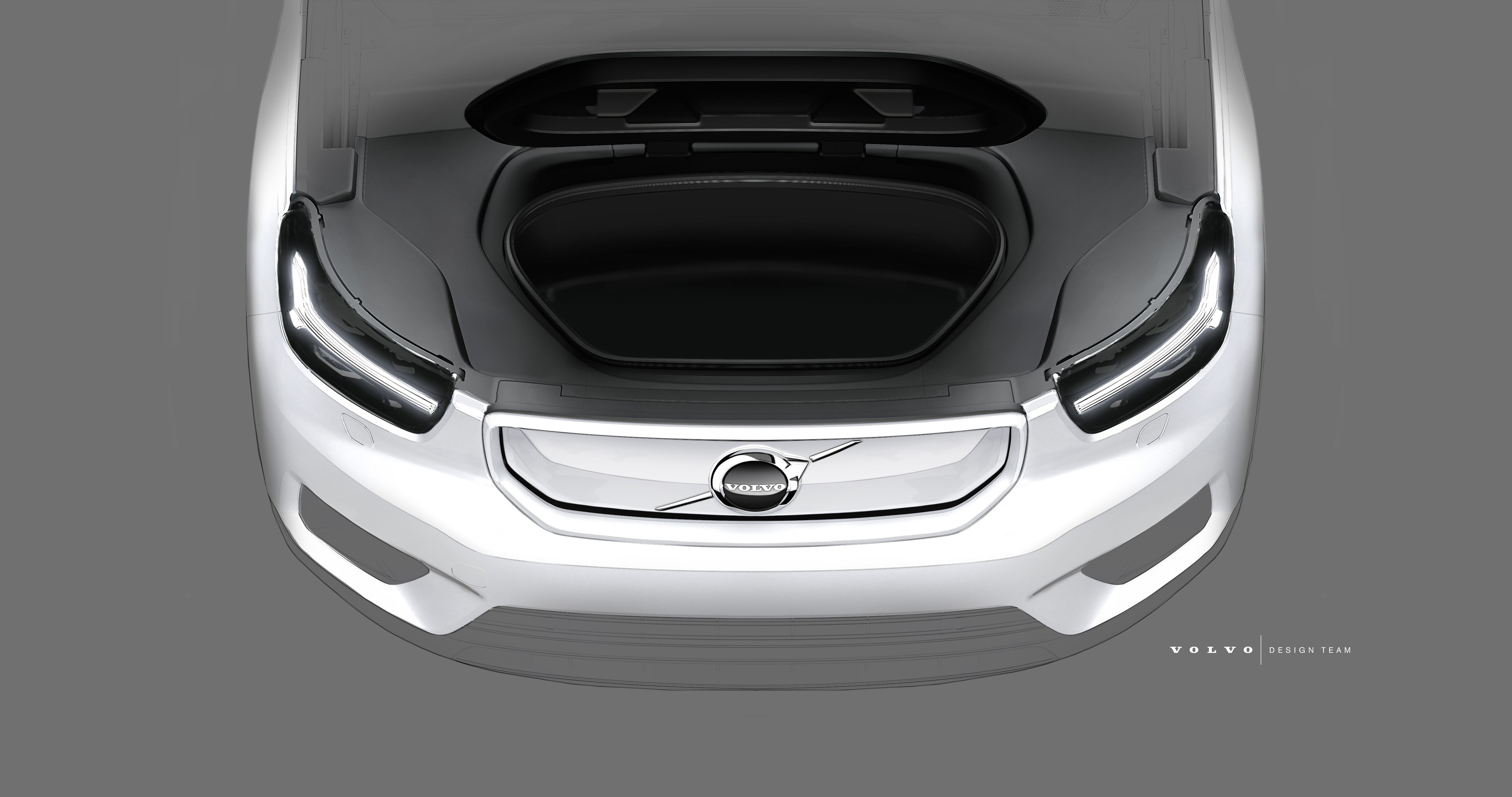 Volvo Electric Suv >> 258582 Design Sketch Of Volvo Cars Fully Electric Xc40 Suv