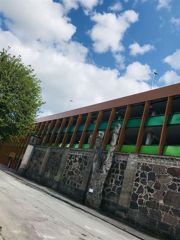 Akilles parkeringshus i maj 2019