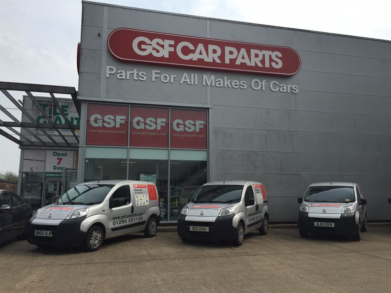 Gsf Car Parts Network Investment Continues With Banbury Signage
