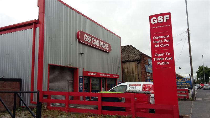 GSF Car Parts Stoke benefits from