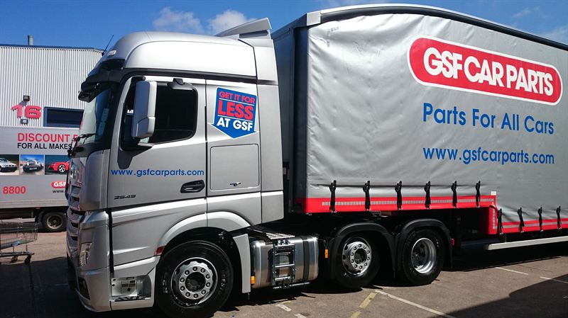 Gsf Car Parts Add New Mercedes Truck To Fleet Gsf Car Parts
