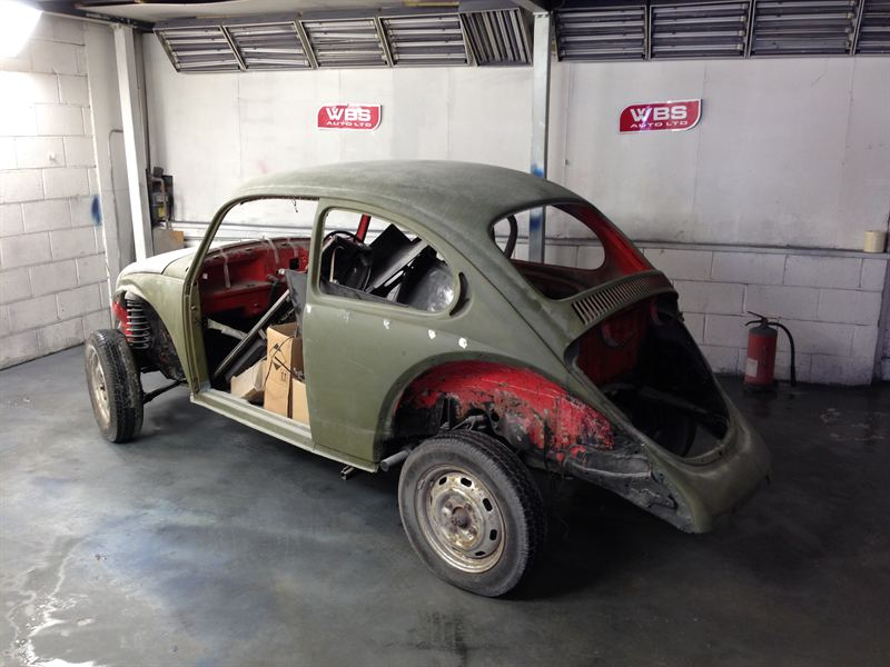 Kelvin Price won 1 500 worth of parts for his 1973 VW Beetle