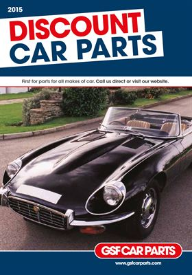 Parts catalogue from GSF Car Parts