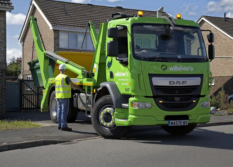 Leading waste management company invests in new DAF Euro 6