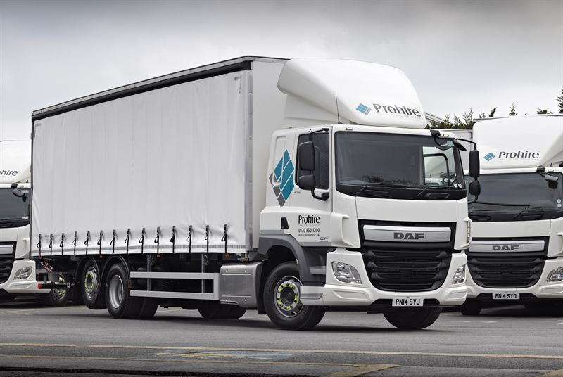 First DAF Euro 6 models prove successful choice for growth