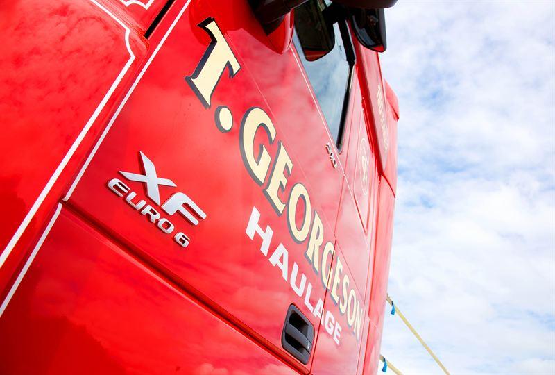 Top Spec Heavy Euro 6 Daf Into Tgeorgeson Torque
