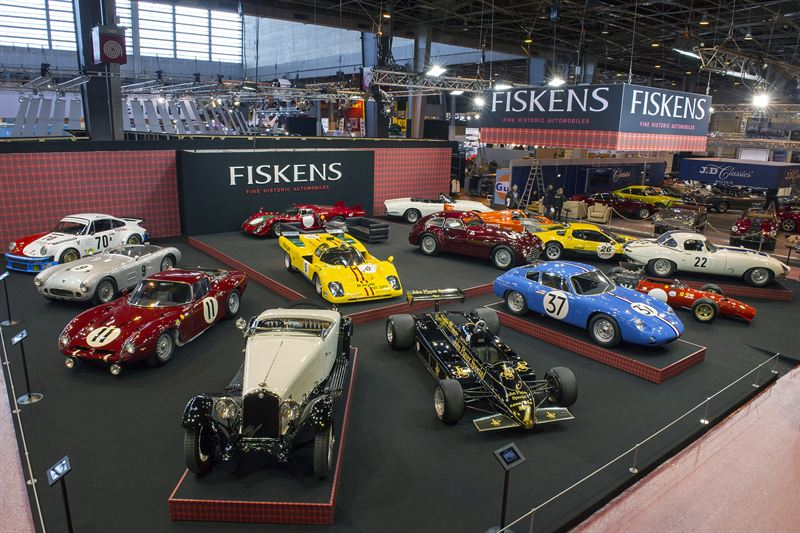 fiskens steals the show as iconic motorsport greats take centre at retromobile torque. Black Bedroom Furniture Sets. Home Design Ideas