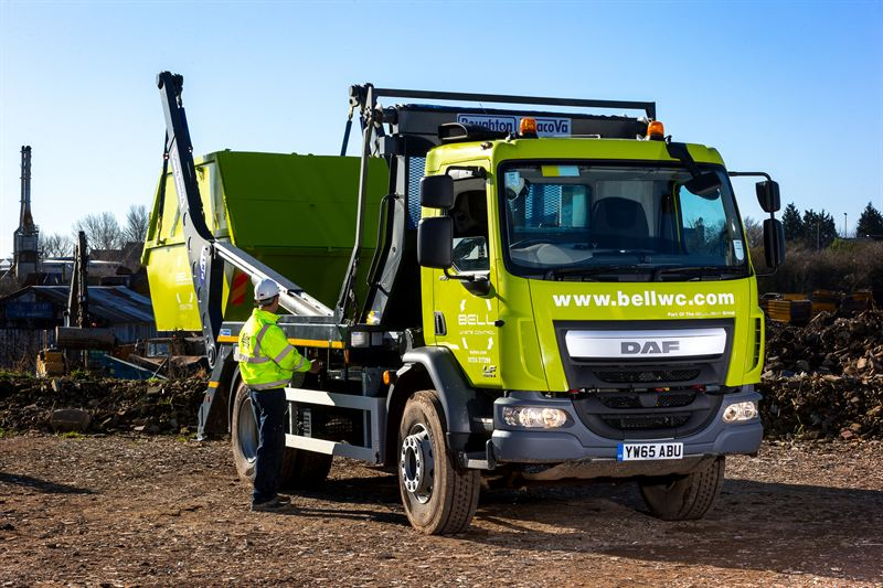 Bell Waste cleans up again with DAF - Torque