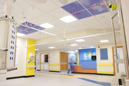 Armstrong Ceilings Help Sick Children See The Bigger