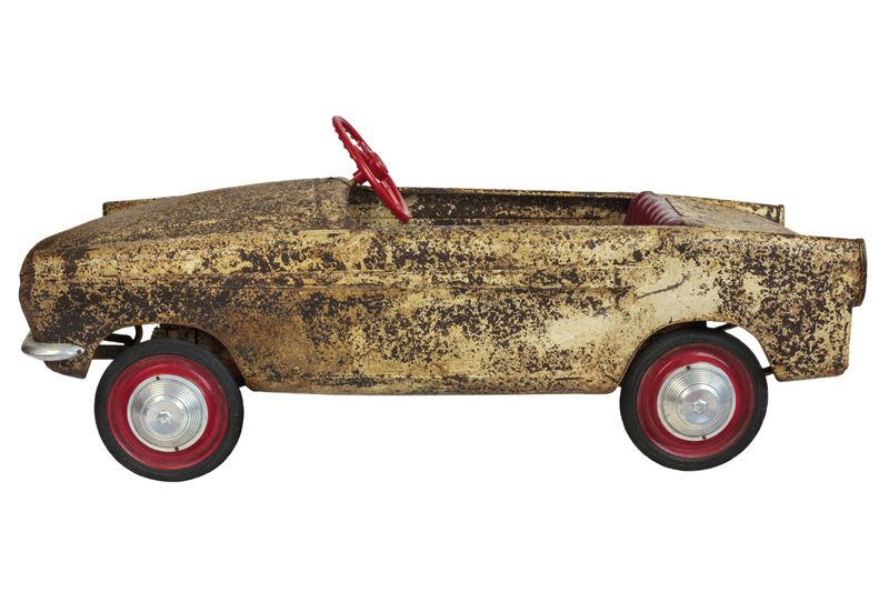 Treasure In The Sandpit Pedal Cars Are Racing Up In Value