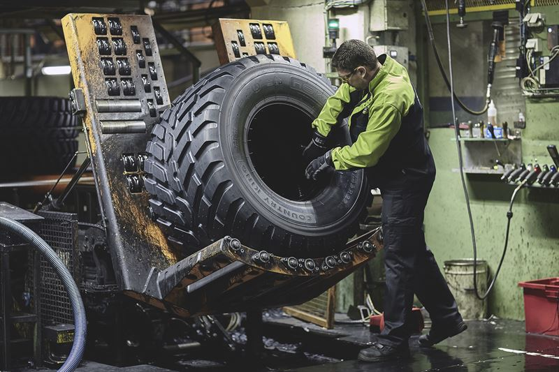 Nokian Tires Review >> Nokian Heavy Tyres Achieved A Milestone In Industrial Safety