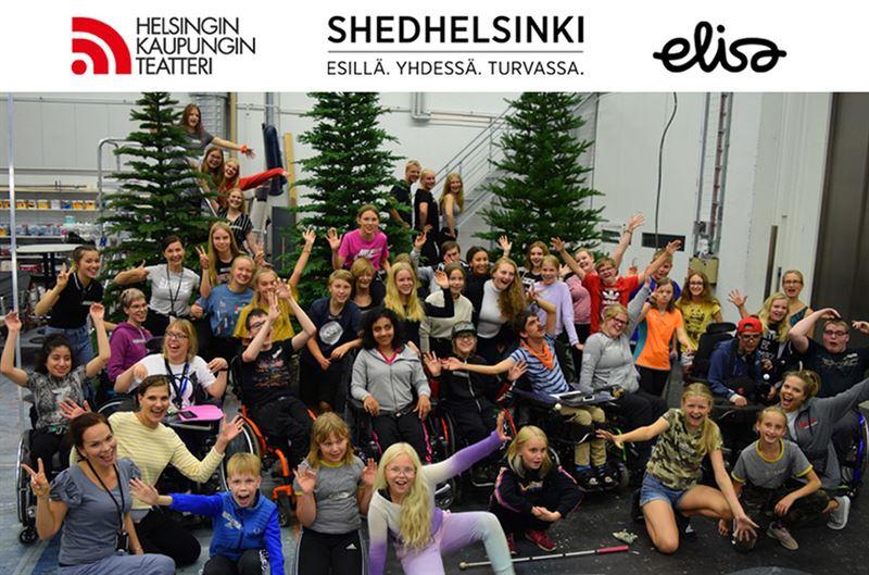 Helsingin Kaupunginteatteri  ShedHelsinki Metsn joulu kuva Mirja Neuvonen