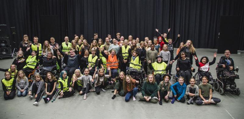Helsingin Kaupunginteatteri  ShedHelsinki Metsn joulu kuva Paula Virta