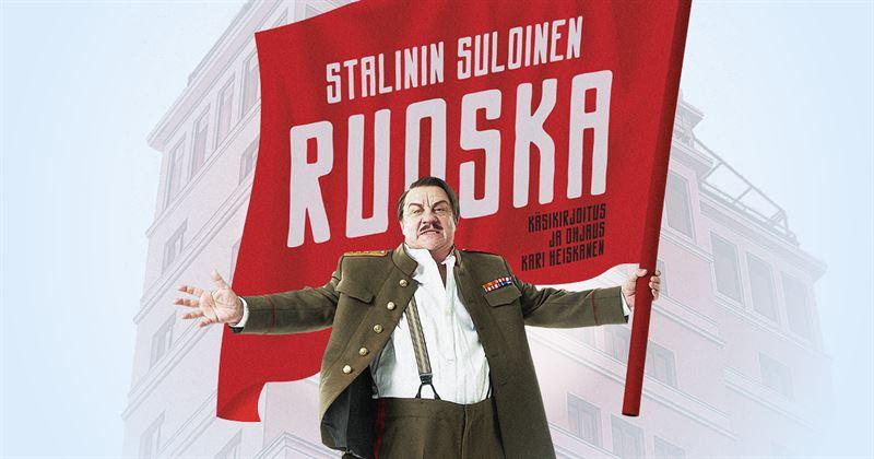 Helsingin Kaupunginteatteri  Stalinin suloinen ruoska Kuvassa Sixten Lundberg Kuva Robert Seger  Teemu Kavasto