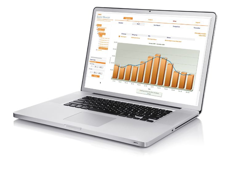 Trend Energy Manager - laptop 1 - Trend Control Systems