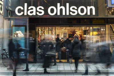 Clas ohlson okade 18 procent i oktober 3