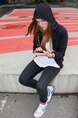 första mobila dating app