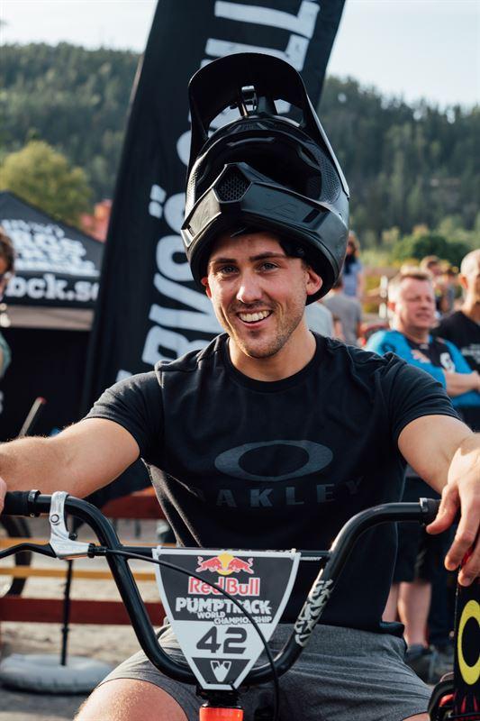 Filip Svanberg bste bmxcyklist