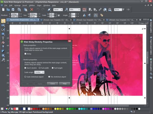 New Release Xara Web Designer 11 Premium With Online Editing Magix