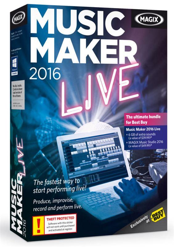 NEW RELEASE - MAGIX Music Maker 2016 - MAGIX