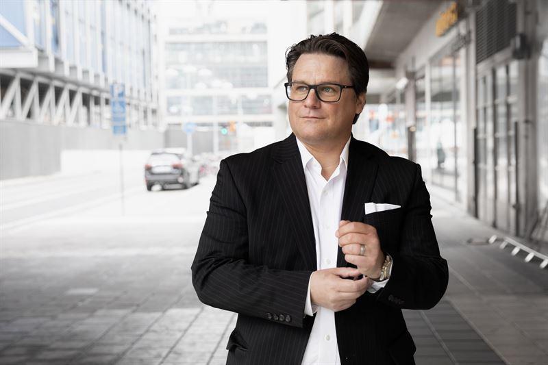 Mattias Lundgren President CEO