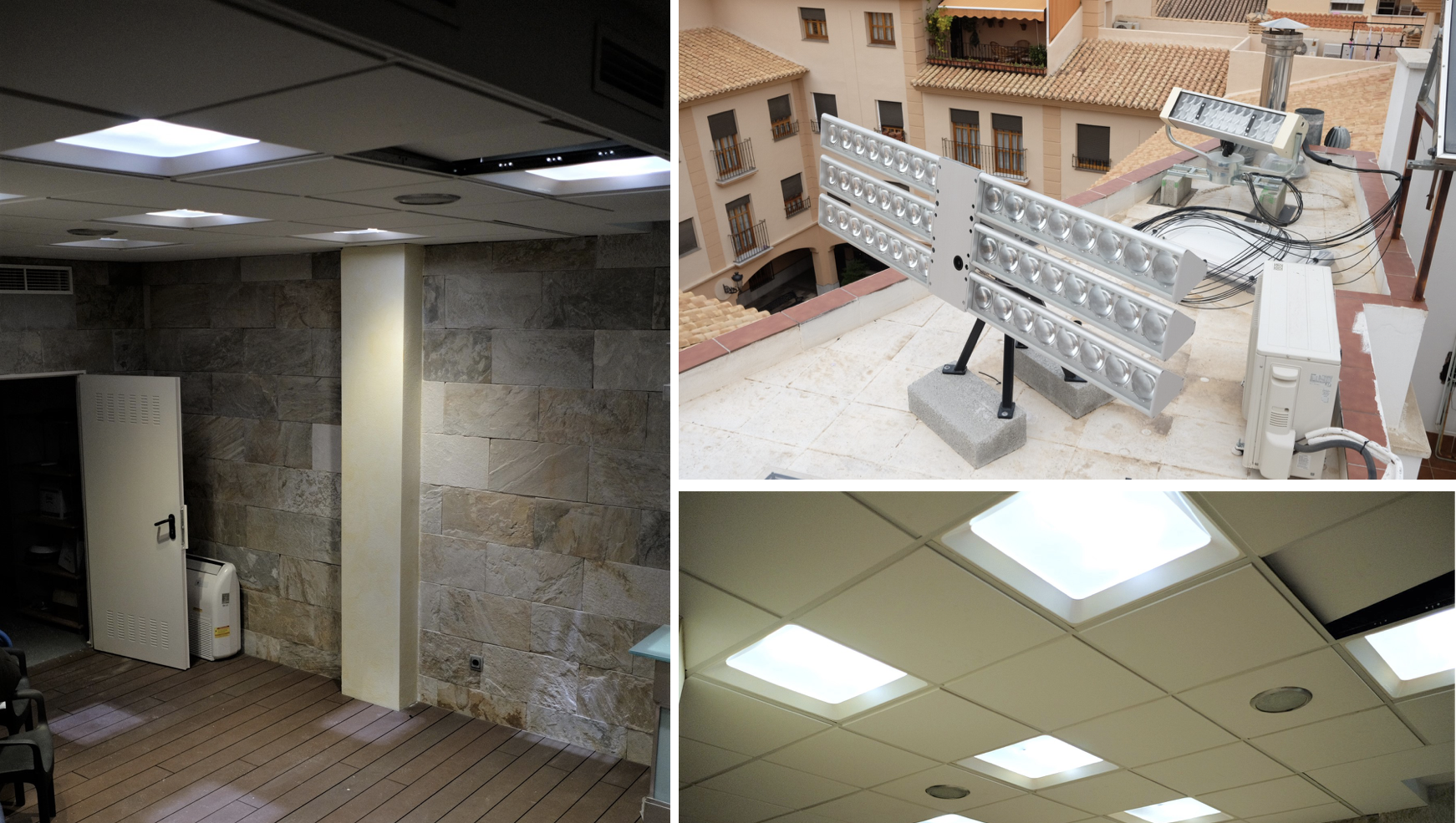 Extended Installation Of Parans System In Spain