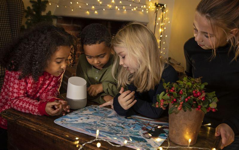 Julkalendern i Google Home
