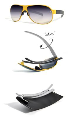 ff02b36413c Technological Innovation Enables Glasses to Fold Completely FlatLos  Angeles