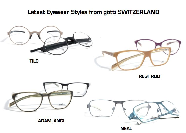 GOTTI SWITZERLAND DEBUTS NEW EYEWEAR STYLES FOR FALL AND WINTER - PR LAB abbf228577